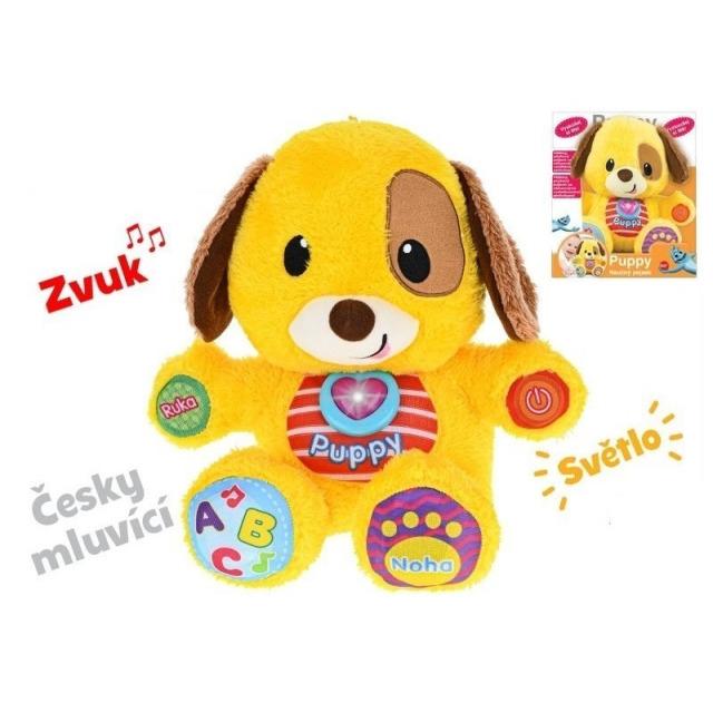 Obrázek produktu Puppy naučný pejsek 33cm česky mluvící, Winfun