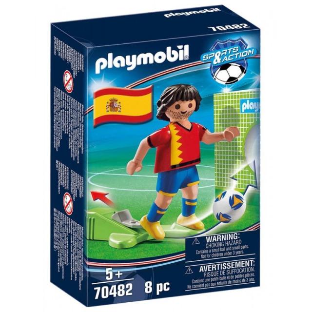 Obrázek produktu Playmobil 70482 Fotbalista Španělska