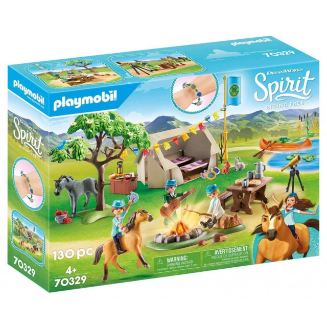 Obrázek produktu Playmobil 70329 Letní kemp