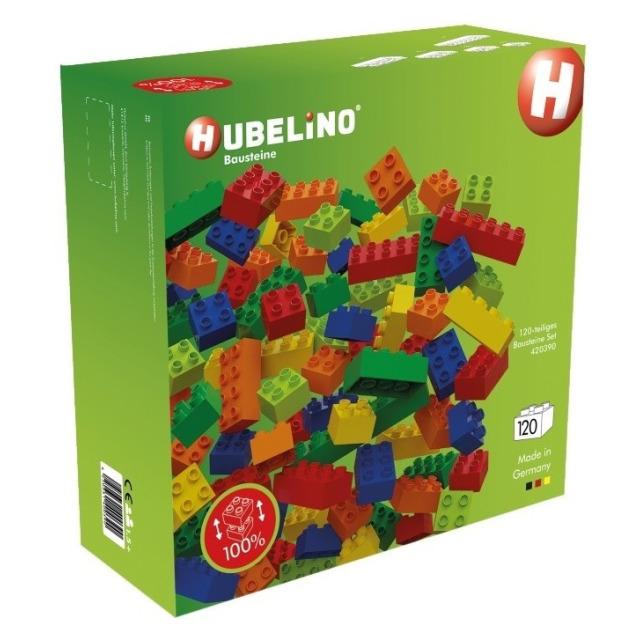 Obrázek produktu HUBELINO Kuličková dráha - kostky barevné 120 ks