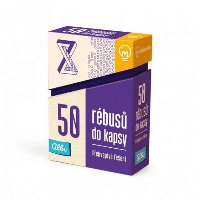 Obrázek produktu Albi 50 rébusů do kapsy - Překvapivá řešení