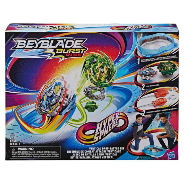 Obrázek produktu BeyBlade Burst Rise Hypersphere Aréna se 2 kotouči, Hasbro E7609
