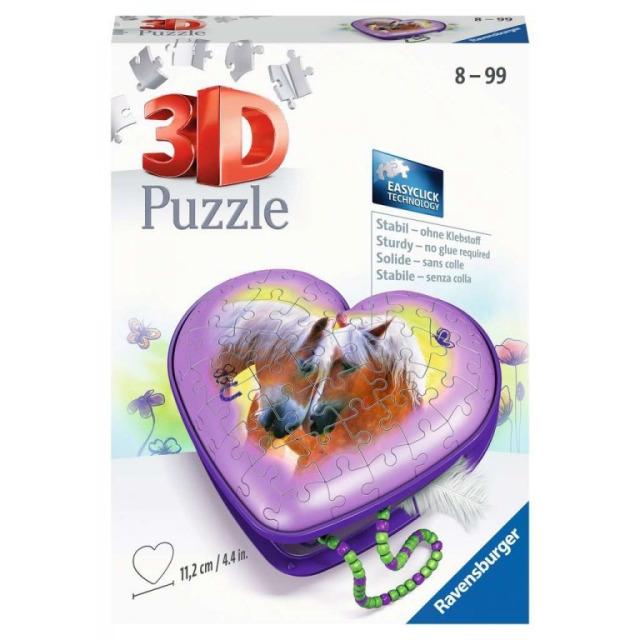Obrázek produktu Ravensburger 11171 Puzzle Srdce Koně 54 dílků