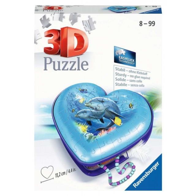 Obrázek produktu Ravensburger 11172 Puzzle Srdce Podmořský svět 54 dílků