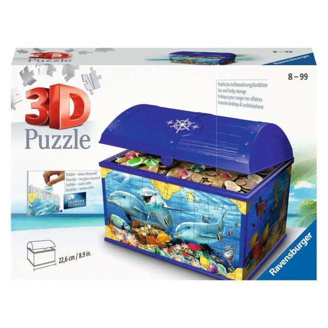 Obrázek produktu Ravensburger 11174 Puzzle Truhla Podvodní svět 216 dílků