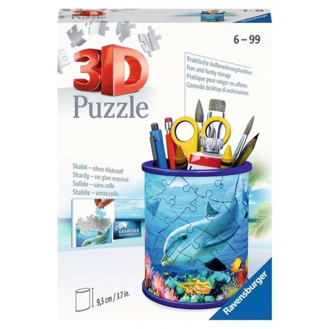 Obrázek produktu Ravensburger 11176 Puzzle Stojan na tužky Podvodní svět 54 dílků