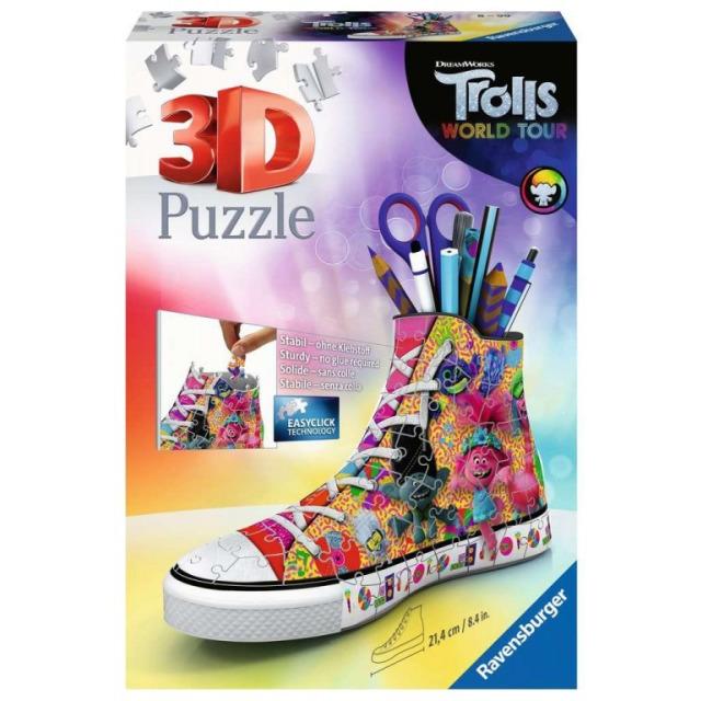 Obrázek produktu Ravensburger 11231 Puzzle 3D Kecka Trolové 108 dílků