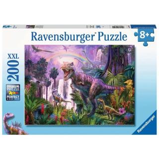 Obrázek 1 produktu Ravensburger 12892 Puzzle Svět dinosaurů 200 XXL dílků
