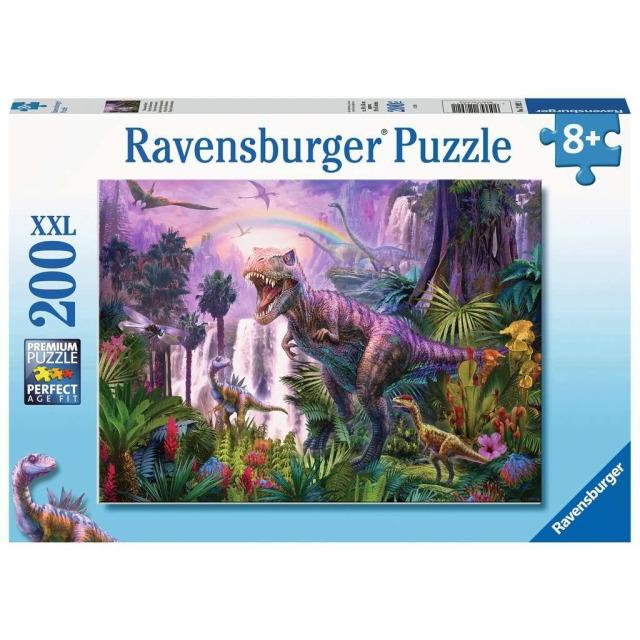 Obrázek produktu Ravensburger 12892 Puzzle Svět dinosaurů 200 XXL dílků