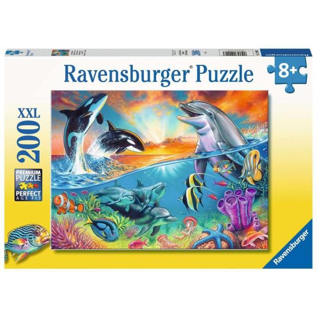 Obrázek produktu Ravensburger 12900 Puzzle Život v oceánu 200 XXL dílků