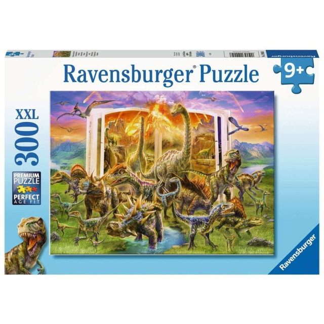Obrázek produktu Ravensburger 12905 Puzzle Encyklopedie dinosaurů 300 XXL dílků