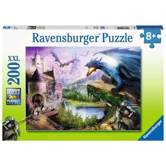Obrázek produktu Ravensburger 12911 Puzzle Boj s drakem 200 XXL dílků