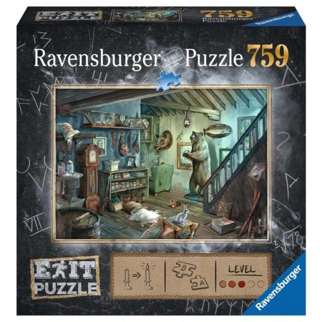 Obrázek produktu Ravensburger 15029 Exit Puzzle: Zamčený sklep 759 dílků