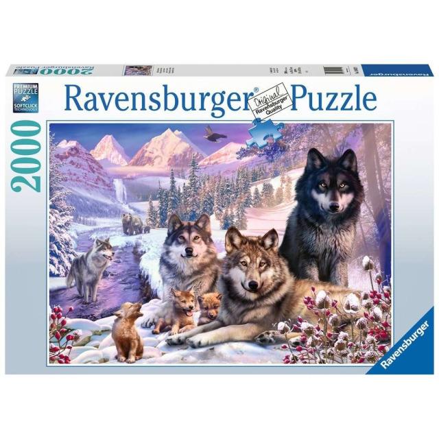 Obrázek produktu Ravensburger 16012 Puzzle Vlci ve sněhu 2000 dílků