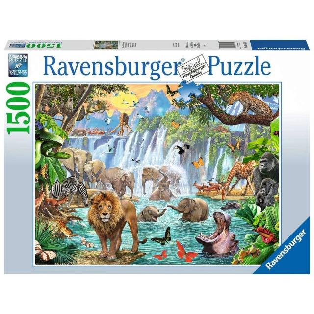 Obrázek produktu Ravensburger 16461 Puzzle Vodopád na safari 1500 dílků