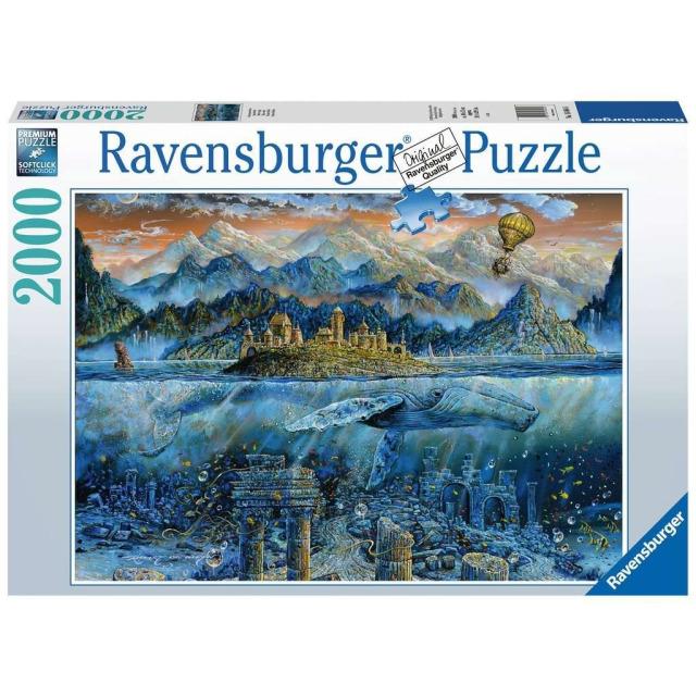 Obrázek produktu Ravensburger 16464 Puzzle Moudrá velryba 2000 dílků