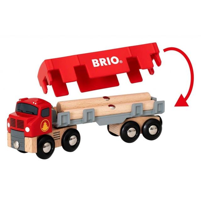 Obrázek produktu BRIO 33657 Tahač se dřevem