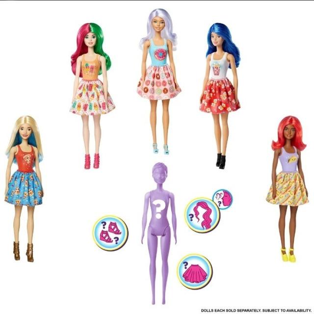Obrázek produktu Mattel Barbie COLOR REVEAL, vlna 2, GTP41
