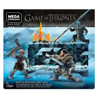 Obrázek 1 produktu Mega Bloks Hra o trůny Bitva bílého chodce, Mattel GKG96