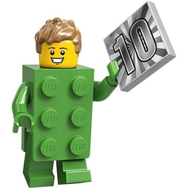 Obrázek produktu LEGO 71027 Minifigurka Kostým zelená kostka