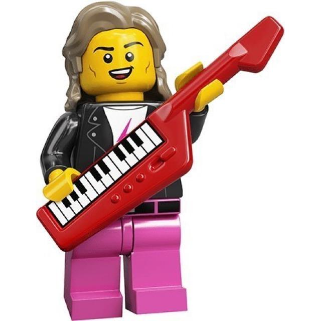 Obrázek produktu LEGO 71027 Minifigurka Popstar z 80. let
