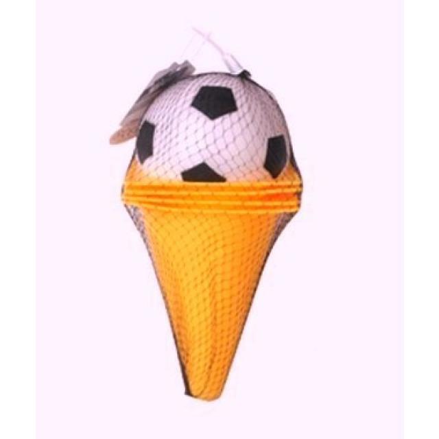 Obrázek produktu Kužely oranžové s fotbalovým míčkem