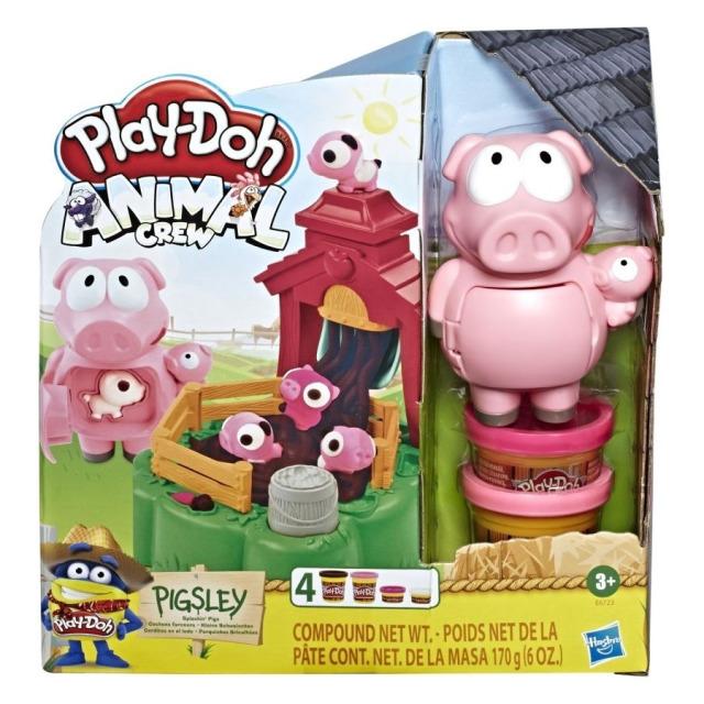 Obrázek produktu Play Doh Animals rochnící se prasátka, Hasbro E6723