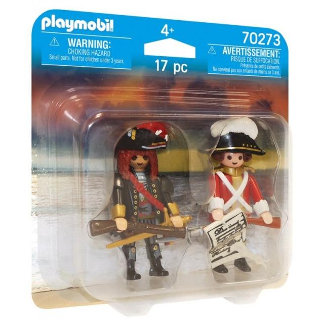 Obrázek produktu Playmobil 70273 Kapitán pirátů a velitel vojska