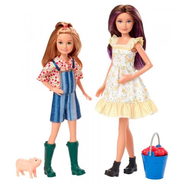 Obrázek produktu Barbie farmářky Skipper a Stacie, Mattel GHT16