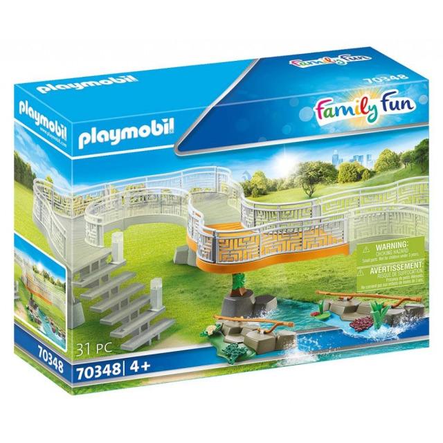 Obrázek produktu Playmobil 70348 Rozšíření k ZOO: Vyhlídková cesta