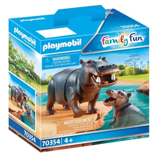 Obrázek produktu Playmobil 70354 Hroch s mládětem
