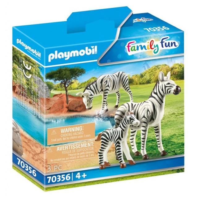 Obrázek produktu Playmobil 70356 Zebry s mládětem
