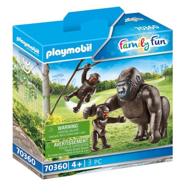 Obrázek produktu Playmobil 70360 Gorila s mláďaty
