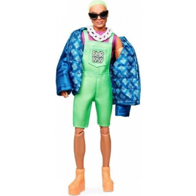 Obrázek produktu Barbie Sběratelská BMR1959 Ken se zelenými vlasy módní DeLuxe, Mattel GHT96