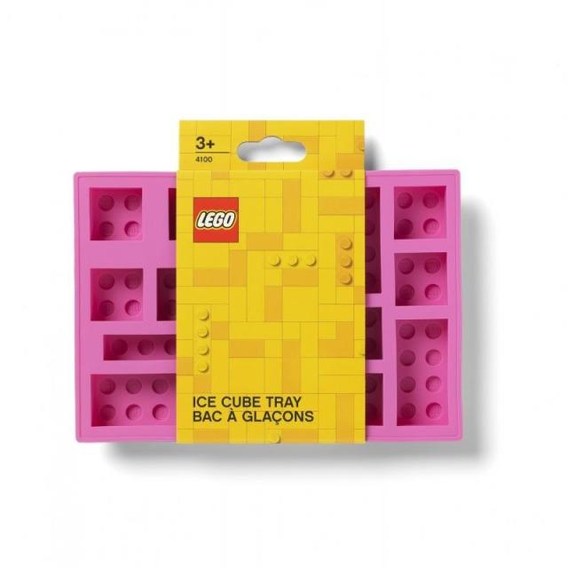 Obrázek produktu LEGO Iconic silikonová forma na led růžová