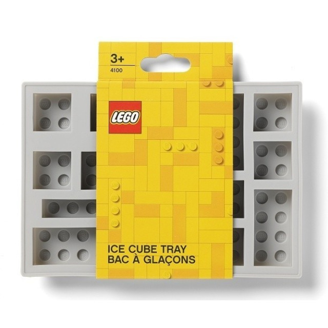 Obrázek produktu LEGO Iconic silikonová forma na led šedá