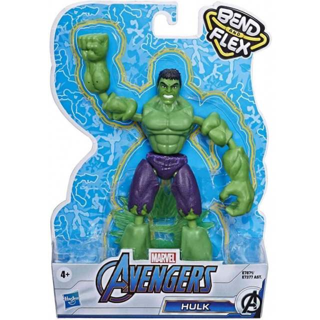 Obrázek produktu Avengers figurka Bend and Flex HULK, Hasbro E7871