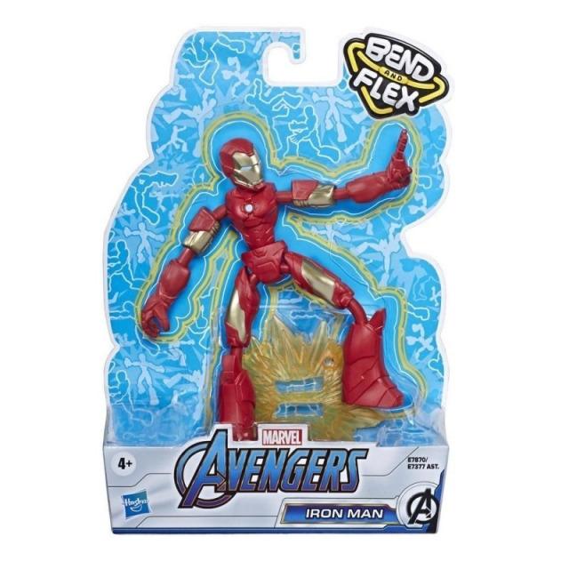 Obrázek produktu Avengers figurka Bend and Flex IRON MAN, Hasbro E7870