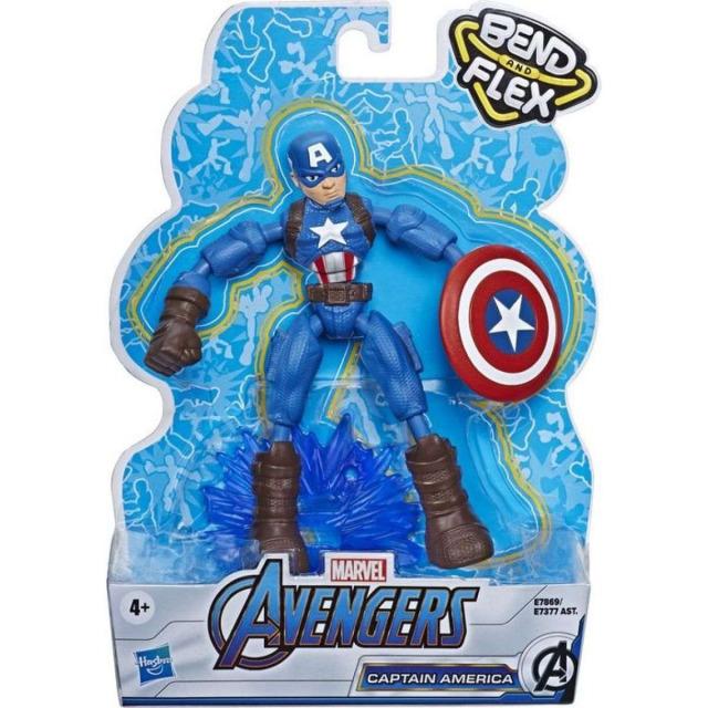 Obrázek produktu Avengers figurka Bend and Flex CAPTAIN AMERICA, Hasbro E7869