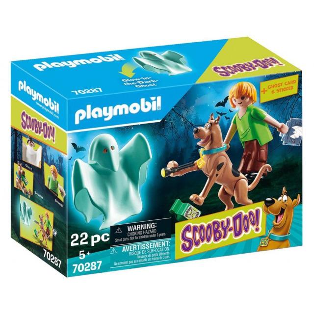 Obrázek produktu Playmobil 70287 SCOOBY-DOO! Scooby a Shaggy s duchem