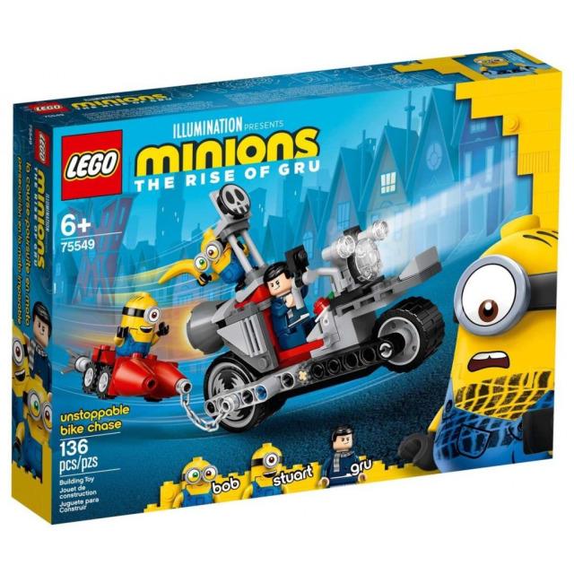 Obrázek produktu LEGO Mimoni 75549 Divoká honička na motorce