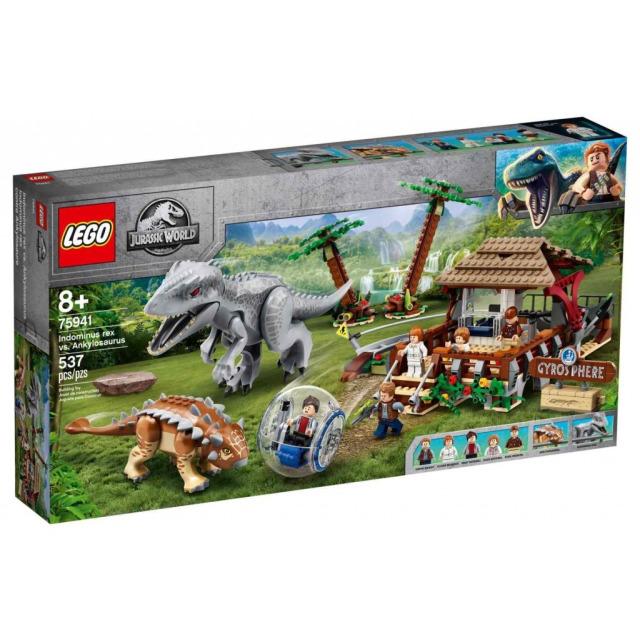 Obrázek produktu LEGO Jurassic World 75941 Indominus rex vs. ankylosaurus