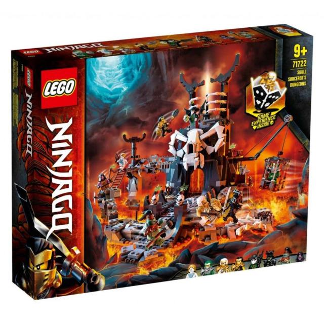 Obrázek produktu LEGO Ninjago 71722 Kobky Čaroděje lebek