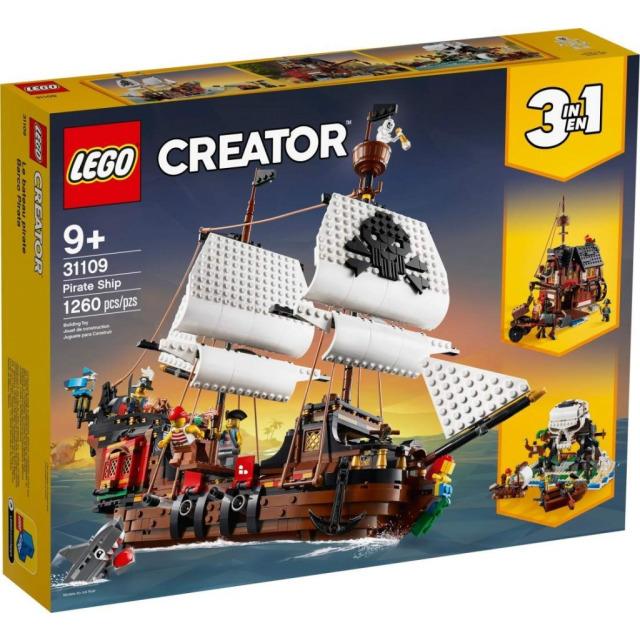 Obrázek produktu LEGO CREATOR 31109 Pirátská loď