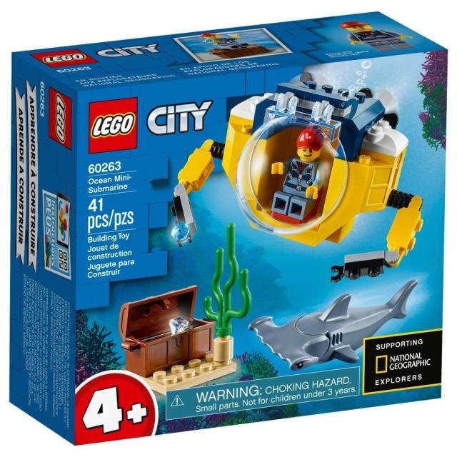 Obrázek produktu LEGO CITY 60263 Oceánská mini ponorka