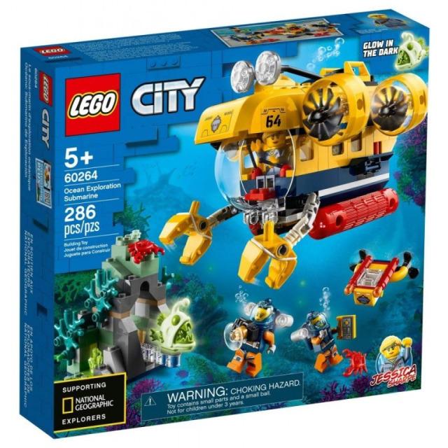 Obrázek produktu LEGO CITY 60264 Oceánská průzkumná ponorka