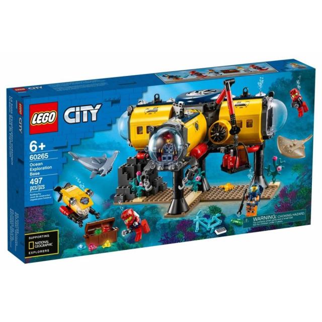 Obrázek produktu LEGO CITY 60265 Oceánská průzkumná základna
