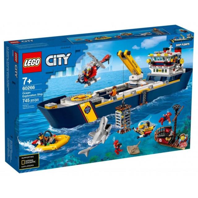 Obrázek produktu LEGO CITY 60266 Oceánská průzkumná loď