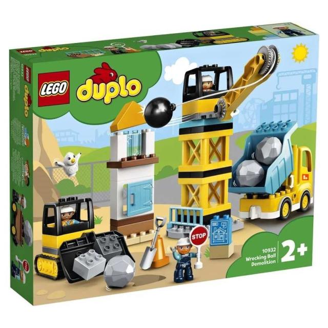 Obrázek produktu LEGO DUPLO 10932 Demolice na staveništi