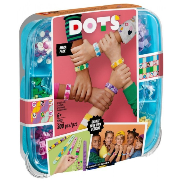 Obrázek produktu LEGO DOTS™ 41913 Mega balení náramků